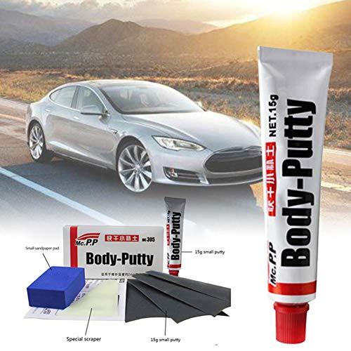 QueenHome Car Body Putty, Stift-Assistent für die Reparatur von Kratzern, glattem Reparaturwerkzeug, Car-Styling, Karosserie-Platten auf der Füllung von Fahrzeugen