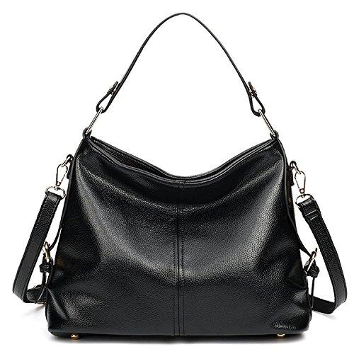 Borse della borsa della borsa della borsa delle borse della borsa della borsa delle Myleas Nero