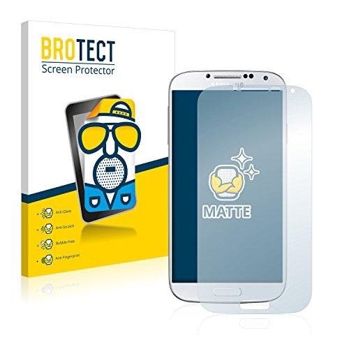 brotect Protection Ecran Anti-Reflet Compatible avec Samsung Galaxy S4 (2 Pièces) - Film Protection Ecran Mat