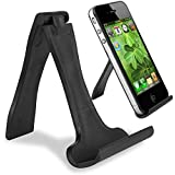 Channelexpert Socle Dock Station D'accueil Support Horizontal & Vertical Universel Noir Pour LG V10 G4 G3 iPhone 4 4s 5 6 6s Plus Samsung Galaxy Note 5 S6 Edge + Nexus 5x 6P Nokia E6 X7 C2-01 C5-03 E7