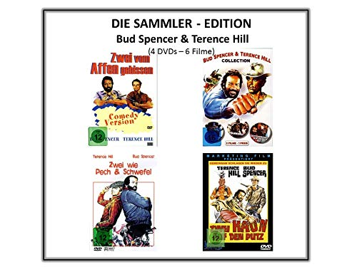 Die Sammler Edition - Bud Spencer & Terence Hill (4 DVDs - 6 Filme)