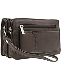 Valigeria Amazon Uomo it Arancione Pochette Spw46IrS