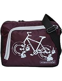 Fantosy Men Violet Polyester Cycle Sidebag (MB-039)