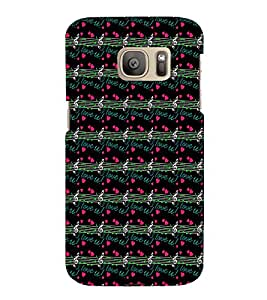 EPICCASE love music Mobile Back Case Cover For Samsung Galaxy S7 Edge (Designer Case)