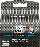 Balea MEN revolution 5.1 Rasierklingen, 8 St