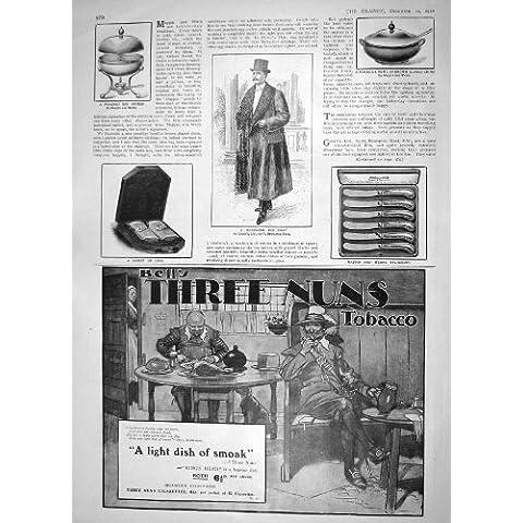 Cuenco 1910 De Las Gachas De Avena De La Cocina Odol Del Huevo Del Abrigo De Pieles Gooch