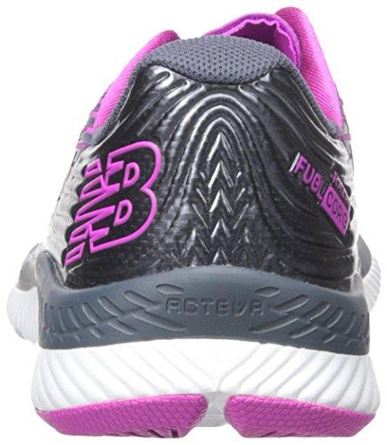 New Balance Damen Fuelcore Razah Hallenschuhe Thunder/Poisonberry