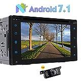 """Eincar 6.2"""" Stereo Touch Screen auto universale Android 7.1 2 DIN Supporto DVD Multimedia Player GPS Navigation controllo del volante Specchio link OBD2 DAB + Bluetooth 3G / 4G WIFI Cam-In + Free telecamera posteriore"""