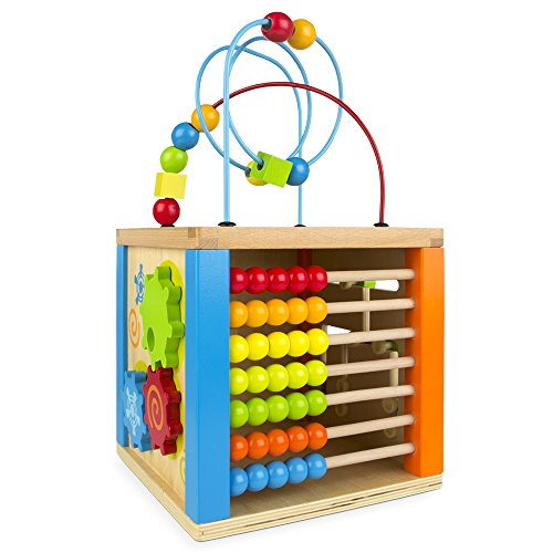 ColorBaby - Centro actividades madera & ábaco 42745