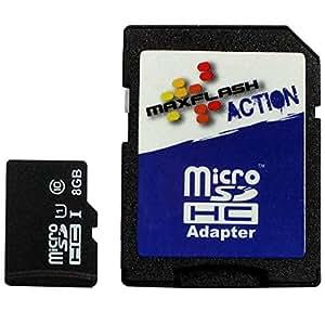8Go Carte Mémoire Pour Panasonic Lumix DMC-TZ56, Classe 10, Supporte Ultra HD;