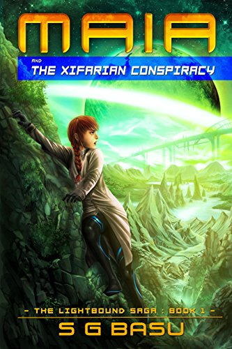 free kindle book Maia and the Xifarian Conspiracy (The Lightbound Saga Book 1)