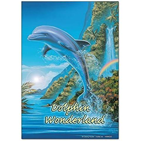 Magneti Calamite frigorifero Divertimento G. Huber Dolphin meraviglie
