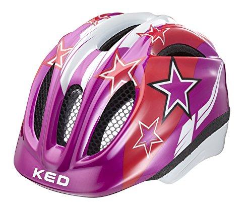 KED Fahrradhelm Meggy, Violet Stars, S, 16409180S