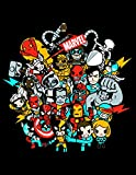 Marvel X Tokidoki Superstars Hoodie Sweatshirt | XL