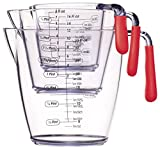Measuring Jug Set - 3 Piece Red