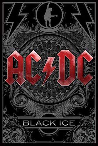 AC/DC Poster Black Ice + articolo aggiuntivo