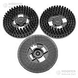 Hoover schwarze Wachsscheibe, Reinigungsscheibe Z17 für F38PQ Bohnermaschine - Nr.: 35600707