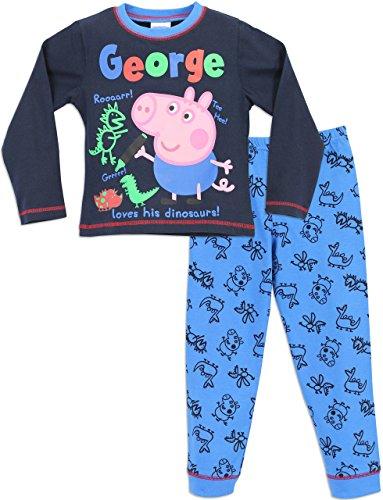 George Pig - Pijama para Niños - George Cerdito - 5 a 6 Años