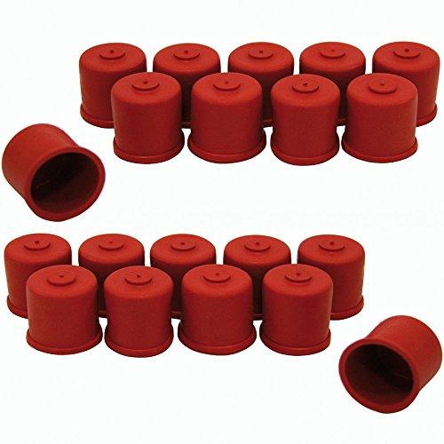 20 Süß- Mostkappen / Verschlüsse für Glasflaschen 0,7 + 1,0 l