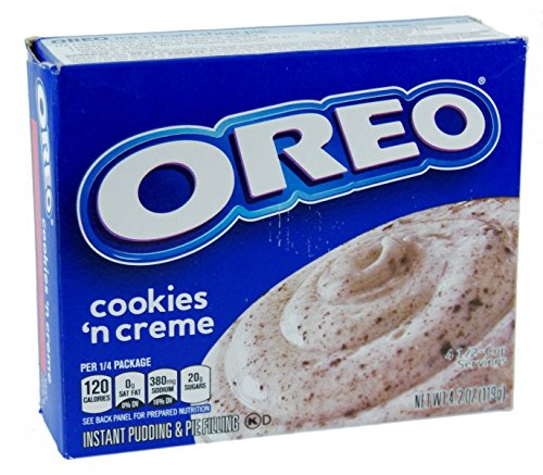 Jell-O OREO cookies 'n cream Instant Pudding & Pie Filling (119g) Jello Cookies