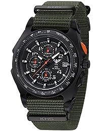 KHS Uhr Sentinel AC Black Natoband Olive KHS.SEACB.NO *** Neuheit 2015 ***