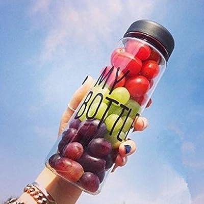 Flasche My Klar Sport Obst Saft Wasser Cup tragbar 500ml Reise Flasche
