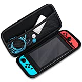 Nintendo Switch Case, Protective Travel Carrying Case Nintendo Switch Carry Bag with Detachable Hand Wrist Strap, Portable and Suitable for Nintendo Switch Accessories