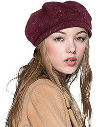 Amazon.es  Rojo - Boinas   Sombreros y gorras  Ropa a29782eb2a4