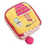 yellow : Sanitary Napkin Bag - TOOGOO(R) Girl's Cute Sanitary Napkin Towel Pads Small Bag Purse Holder Organizer£¨yellow£©