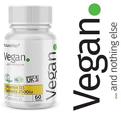 New Vegan Vitamin D3 2500iu - Vegan and Nothing Else