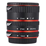 #4: Zorbes WEIHE Auto Focus Macro Metal Extension Tube for Canon EF EF - S Lens