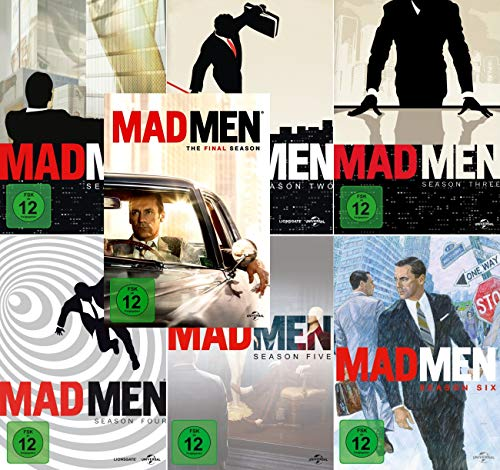 Mad Men - Die komplette Serie 1-7 (30 DVDs) - Dvd 5 Mad Tv-season