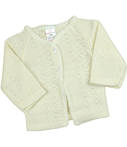 Babyprem Baby Cardigan Jacket Boy Girl Buttons Soft Knitted Newborn - 3 Months