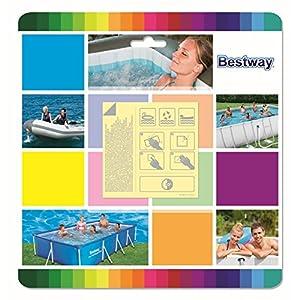Bestway Wasserfeste, selbstklebende Reparaturflicken, 10 Stück