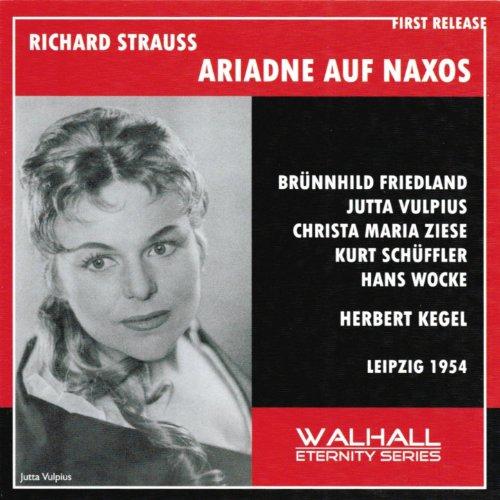 Richard Strauss : Ariadne auf Naxos (Leipzik 1954)