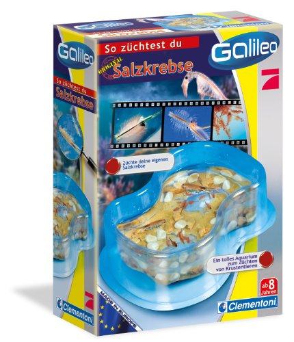 Clementoni Galileo 69937.7 - Juego educativo de crianza de artemia salina