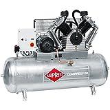 Airpress® ölgeschmierter Druckluft-Kompressor GK2500-500 SD (15 kW,11 bar,500l Kessel, 400 Volt) Kolben-Kompressor