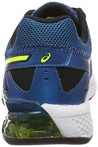 Asics Gel-defiant, Chaussures de Running Entrainement Homme Bleu (mosaic Blue/flash Yellow/onyx 5307)