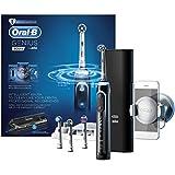 Oral-B Genius 9000 - Cepillo de dientes eléctrico recargable, con conectividad Bluetooth, color negro