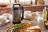Philips Cucina Viva Collection SoupMaker HR2204/80, 1000 W, 1.2 Litri, Acciaio Inox, Nero
