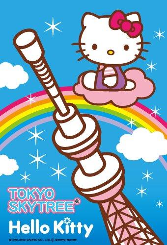 Hello Kitty | Puzzle | 108 Pcs Tokyo Skytree Rainbow M108-127 (japan import) (Tokyo Skytree)