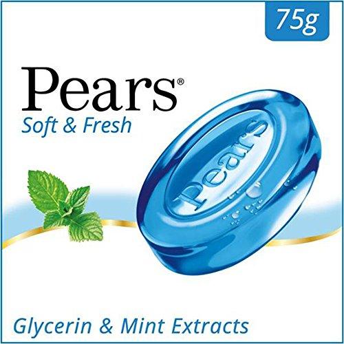 Pears Soft and Fresh Bathing Bar, 75g