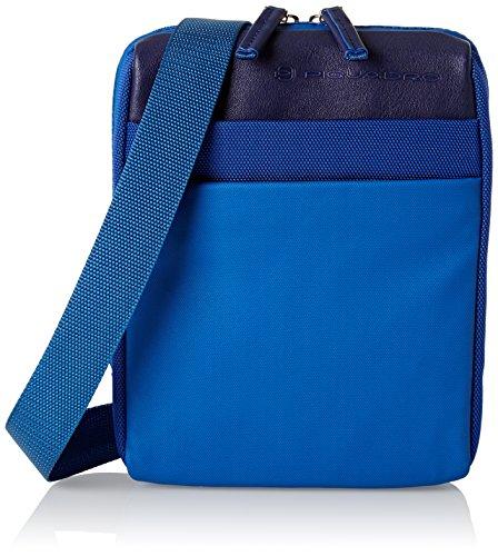 Piquadro Orinoco Borsa Messenger, 21 cm, Blu
