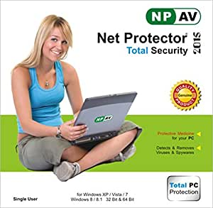 Net Protector Total Internet Security and PC Protection 2015 -1 PC 1 Year