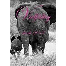 Kalender DIN A5 - Vielfältig durch 2017: Elefanten