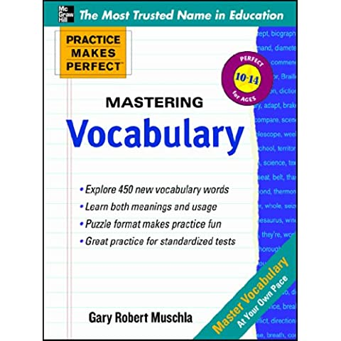 Practice Makes Perfect Mastering Vocabulary (Practice Makes Perfect Series)