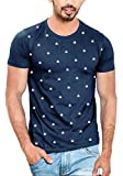 WYO Wear Your Opinion Men's Printed Regular Fit T-Shirt (WYO001428RNT-AOP-M_Navy_S)