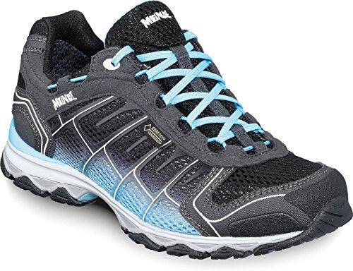 Meindl Schuhe X-SO 30 Lady GTX Surround - schwarz/türkis Blau