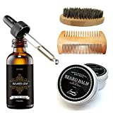 Die besten Beard Wachse - cosporf Beard Balm Schnurrbart Creme Creme Öl-Balsam Spülung Bewertungen