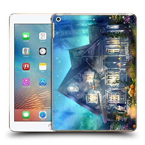Head Case Designs Offizielle Joel Christopher Payne Halloween Strasse Verwunschener Ort Ruckseite Hülle für iPad 9.7 2017 / iPad 9.7 2018